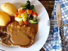 Gros Koteletter - Fra mitt kjøkken Eggs, Breakfast, Food, Morning Coffee, Essen, Egg, Meals, Yemek, Egg As Food