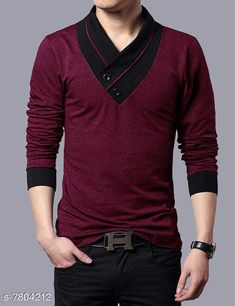 Tshirts Mens Vneck Tshirt Fabric: Cotton Sleeve Length: Long Sleeves Pattern: Solid Multipack: 1 Sizes: S (Chest Size: 36 in Length Size: 27 in)  XL (Chest Size: 42 in Length Size: 28.5 in)  L (Chest Size: 40 in Length Size: 28 in)  M (Chest Size: 38 in Length Size: 27.5 in)  XXL (Chest Size: 44 in Length Size: 29 in) Country of Origin: India Sizes Available: S, M, L, XL, XXL   Catalog Rating: ★4.1 (408)  Catalog Name: Urbane Designer Men Tshirts CatalogID_1276010 C70-SC1205 Code: 653-7804212-999