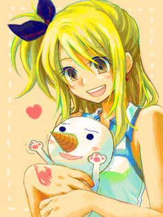 Lucy and Plue | Fairy Tail