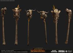 ArtStation - Total War: Warhammer art, Kai Du