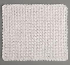 Many children enjoy having security blankets to keep close to them at all times. This So Soft One Skein Security Blanket is probably the most comfortable and easy crochet baby blanket you could make for your little one.