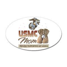 USMC MOM-once a Marine mom, always a Marine mom