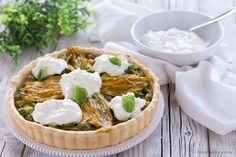 Torta+salata+con+zucchine+e+burrata