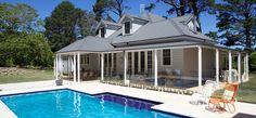 Grey roof cottage