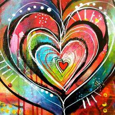 Heart Art by Belinda Fireman www.belindafireman.wordpress.com