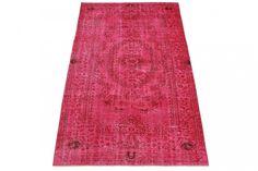 Vintage Teppich Pink in 290x180cm