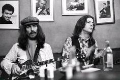 George Harrison & Eric Clapton.