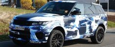 Spy Images of the 2015 Range Rover Sport Revealed