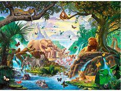 Jungle Animals Six HD Desktop Wallpaper