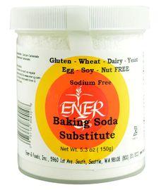 Baking Soda Substitute, Baking Powder Recipe, Garlic Oil, Heart Healthy Recipes, Healthy Foods, Foods With Gluten, Gluten Free Baking, Nutritional Supplements, Nut Free