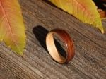 I think these wooden rings are very unusual.