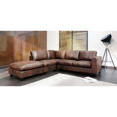 Ecksofa Aus Wildlederimitat, Braun Kennedy Im Shop Von Maisons Du Monde.  Jetzt Neue Ausführungen U0026 Farben An Sofas Entdecken.