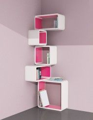 Modular-Corner-Cube-Wall-Shelf-M-in-white-and-Pink