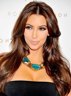Kim Kardashian. I think she has a beautiful body. I love that it just goes to show you don't have to be stick thin to look beautiful.