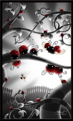 LADYBUGS by MyNameIsBrilliant on DeviantArt