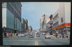 WA. Washington. Tacoma. Broadway. Street Scene. Woolworth Co. Store. Postcard