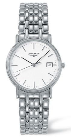 L4.720.4.12.6, L47204126, Longines presence watch, mens