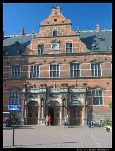 Denmark Picture: The old train station