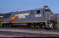RailPictures.Net Photo: SBD 5624 Seaboard System GE U33B at Hamlet, North Carolina by Sid Vaught