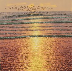 Late On The Wing - SOLD by Mark Pearce - Vermilion Art Gallery
