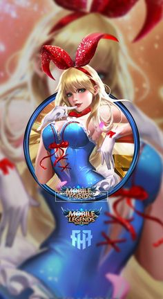 Wallpaper Phone Layla Bunny Girl by FachriFHR on DeviantArt Wallpaper Hp, Mobile Legend Wallpaper, Disney Wallpaper, Bruno Mobile Legends, Miya Mobile Legends, Alucard Mobile Legends, Moba Legends, Legend Images, Female Characters