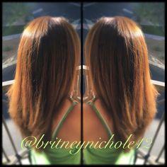 Wella 6/73  caramel brown #wella #stylist #hair #caramel