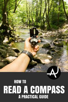 tips to read a compass