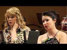 """ANNA NETREBKO and ...ELINA GARANCA. """"Barcarolle"""". Offenbach"""