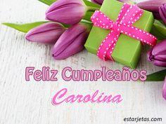 Feliz Cumpleaños Carolina 3