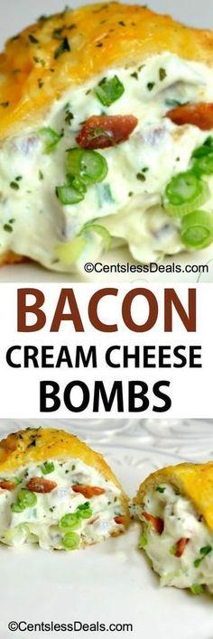 Bacon Cream Cheese Bombs recipe