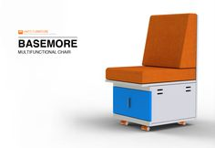 Basemore, a multifunctional chair