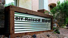 DIY Corrugated Metal Raised Bed! https://medium.com/@padmaaccessorieslimited/diy-corrugated-metal-raised-bed-64af4e18e2e6