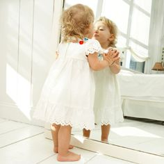 Help you sweetie master the skill of recognizing herself in the mirror. For more top toddler tips, go to WhatToExpect.com.