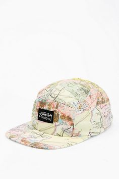 Stussy Printed 5-Panel Hat - Urban Outfitters 5 Panel Hat 986590786303