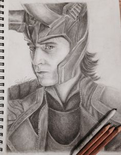 Avengers Drawings, Avengers Art, Marvel Art, Storage, Drawing Sketches, Art Drawings, Collections, Loki Art, Art Assignments