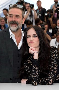 Eva Green with Jeffrey Dean Morgan | 'The Salvation' Photocall at Cannes Film Festival 2014