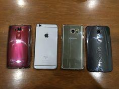 LG G Flex 2 vs iPhone 6S Plus vs Galaxy Note 5 vs Nexus 6