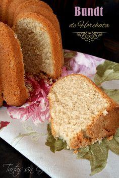 Tartas sin Gluten .....365 dias sin gluten: Bundt de Horchata ... sin Gluten y sin Lactosa