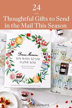 These are the best gifts to send in the mail this holiday season that your friends, family members, and kids will enjoy and actually use. #marthastewart #holidaygifts #holidayideas #christmasgifts #giftsforher #giftsforhim