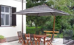 Solero Sonnenschirme Ampelschirm / Gartenschirm Maßanfertigung Exklusiv und Luxus. Patio, Outdoor Decor, Home Decor, Luxury, Homemade Home Decor, Yard, Terrace, Decoration Home, Interior Decorating