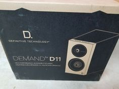 Definitive Technology Demand Series D11 High-Performance Bookshelf Speakers 747192128975 | eBay