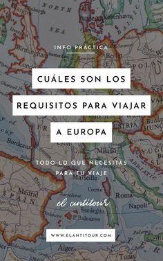 Cuáles son los requisitos para viajar a Europa - Tremble Tutorial and Ideas Birmingham, Travel Around The World, Around The Worlds, Madrid Barcelona, Adventure Awaits, Trip Advisor, Travel Advisor, Travel Tips, Travel Hacks