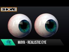 Maya Tutorial - How to create a realistic Eyeball with Arnold - YouTube