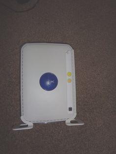 Netgear Router Wireless N-150 4 Ports White Works #NETGEAR