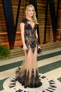 Kate Hudson---Red Carpet Report Card: 2014 Oscar Parties A