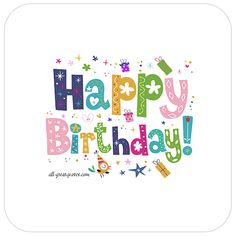 Happy Birthday Animated Gif Facebook Cards Free