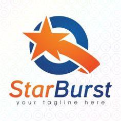 Exclusive Customizable Logo For Sale: Star Burst | StockLogos.com