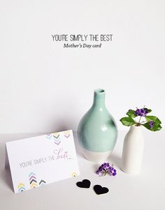 Make   give | Mother's Day card 2014