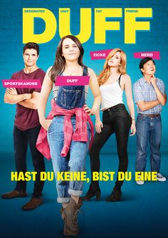 Poster zum Film: Duff - Hast du keine, bist du eine