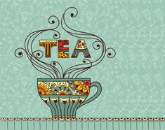 Find Vector Illustration Cup Aromatic Tea Place stock images in HD and millions of other royalty-free stock photos, illustrations and vectors in the Shutterstock collection. Thousands of new, high-quality pictures added every day. Thé Illustration, Tea Places, Tea Quotes, Tea And Books, Cuppa Tea, Tea Art, My Cup Of Tea, Tea Recipes, Drinking Tea